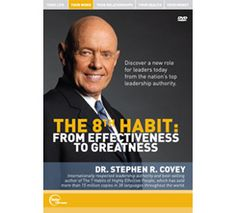 the 8th Habit is even juicier than the 7 Habits of Highly Effective People