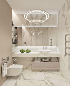 16 ideas apartment interior bathroom design for 2019 Bathroom Design Luxury, Modern Bathroom Decor, Modern Bathroom Design, Bathroom Ideas, Bathroom Inspo, Bath Design, Bathroom Designs, Apartment Interior Design, Interior Decorating