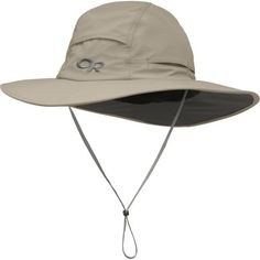 Outdoor Research Sombriolet Sun Hat, Khaki, Medium -- Click on the image for additional details.