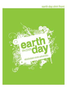 Logo/Collateral :: MSU Earth Day | jenny boone creative
