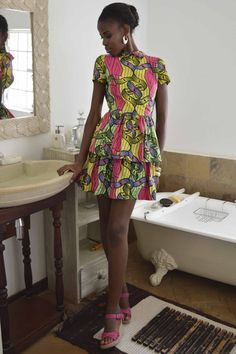 Mikaela Dress   #kitenge #africa #dress #africanfashion #fashion #nairobi #africandress #kenya