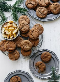 Soft and Chewy Ginger Cookies