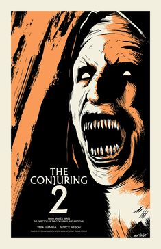 Horror Movie Poster Art : The Conjuring 2, 2016, By Matt Talbot