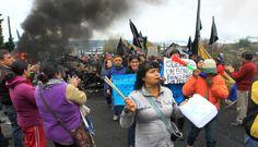La isla chilena de Chiloé arde en protestas por marea roja