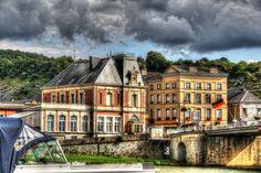 France - Ardenne - Givet - La Meuse.