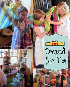 How to Have Tea Party that's fun for Moms AND Kids