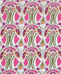 Mauverina Tana Lawn from the Liberty Art Fabrics collection.