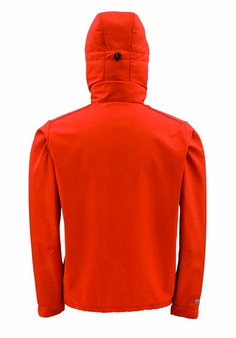 Stay Safe // Simms is known for fishing gear, but its Windstopper Hoody (available in orange and camo) is perfect for keeping you warm, in the woods and on the water.