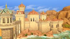 Prince Eric's Castle at Akai Sims via Sims 4 Updates