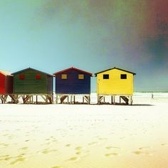 #MUIZENBERG by @evaka #Photocircle #nofilter #Africa #beach #huts #beachhut #sea #seaside #CapePeninsula #Capetown #summer #coast #happyweekend #happysunday  #Closethecircle - if you buy this photo Eva Stadler and Photocircle #donate 18% towards helping #children from a #township in #SouthAfrica obtain an #education