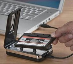 Rediscover your old cassette tapes on the go, Convert your old mix tapes and cassette to MP3 to playback on iPod/MP3 platter or burn to CD.