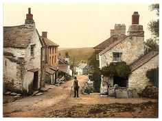 cornish fishing village streets - Google Search