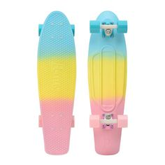 "Penny Skateboards USA Penny Nickel Pastel Fade 27"" Original Plastic Skateboard $140"