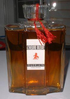 Vintage L'Heure Bleue Guerlain Paris France Perfume