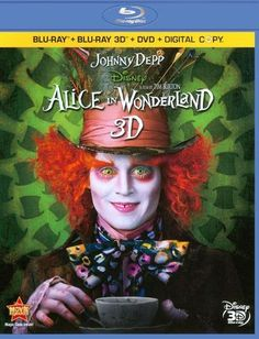 Alice in Wonderland [4 Discs] [Includes Digital Copy] [3D] [Blu-Ray/DVD] [Blu-ray/Blu-ray 3D/DVD] [2010]