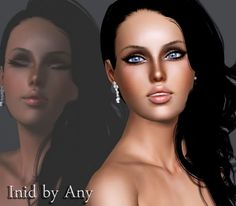 Inid female model by Any - Sims 3 Downloads CC Caboodle