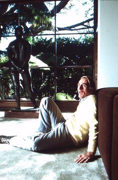 Rod McKuen Mansion 007d; 1986-10-01 Rod McKuen photoshoot slide 13