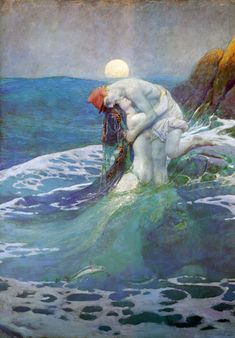 The Mermaid by Howard Pyle, 1919.