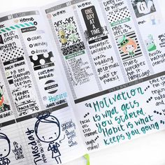 """3,435 Likes, 30 Comments - Passion Planner (@passionplanner) on Instagram: """"This week's #PCW is... @candaceskaggs ✨ - Be sure to check out her cute custom stickers & inserts…"""""""