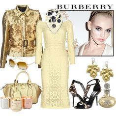 Colores de temporada #Spring #Look #Burberry #2014