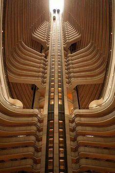 ATL Marriott Marquis, John Portman & Associates