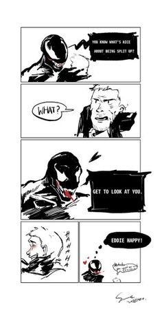 "You are watching the movie Venom on Putlocker HD. When Eddie Brock acquires the powers of a symbiote, he will have to release his alter-ego ""Venom"" to save his life. Venom Comics, Marvel Venom, Marvel Dc Comics, Marvel Avengers, Venom Mcu, Spideypool, Superfamily, Bubbline, Eddie Brock Venom"