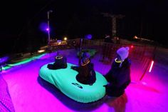 Cosmic snow tubing! Taking Noah for his birthday this year - might become an annual tradition.