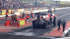 Nitro Shootout 2014  - Reece Fish vs. Anthony Marsh, NZ Drag Racing, Meremere