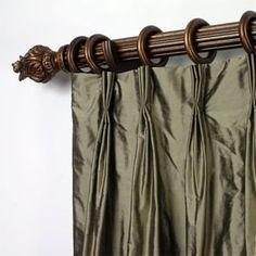 CURTAIN DUPIONI SHEER SILK | Curtains, Drapes & Window Coverings