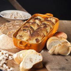 Brot-und-Butter-Auflauf Bread, Food, Souffle Dish, Oven, Easy Meals, Food Food, Recipies, Brot, Essen