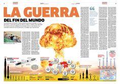 Magazine Design  Revista Domingo, diario La República, Perú Infograhpic: Rocío Medina / Orlando Arauco Layout: Ricardo Cervera