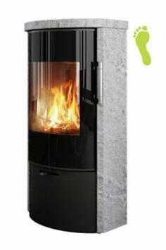 Rais Rina Soapstone Wood Burning Stove #Rais #Stove #Woodburner