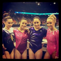 Favorite gymnasts <3
