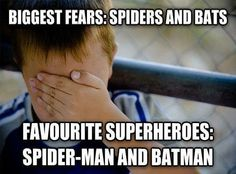 Superhero Meme #Batman, #SpiderMan