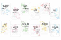 Free Printable 2018 Calendar Journaling Cards