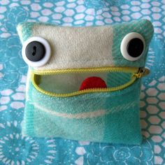 monster coin purse on etsy