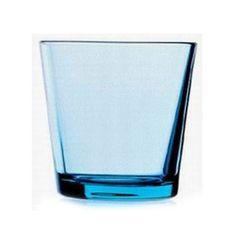 Kartio Drinking Glass Light Blue, Iittala #iittala #kartio #drink #glass #royaldesign #design #finnishdesign