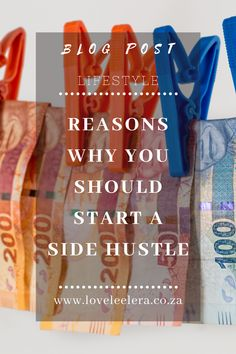 Why Is A Side Hustle Necessary?  Have you found yourself having too much month at the end of your money? Or do you want to do a little more, but the money is being an enemy of progress? No matter what your age, taking on a side hustle can be a smart move. In this post I will give you my 5 reasons why a side hustle is necessary for everyone. Multiple Streams Of Income, Income Streams, Take Care Of Yourself, Finding Yourself, Make Ends Meet, Investment Portfolio, Job Work, Hobbies And Interests
