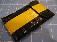 Duct tape/felt no sew ipod case