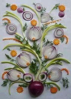 Onion decoration