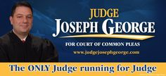 Today is election day. Here is a billboard design I did for Judge Joseph George who is running for Court of Common Pleas in Fayette County. #political #design #billboard #judge