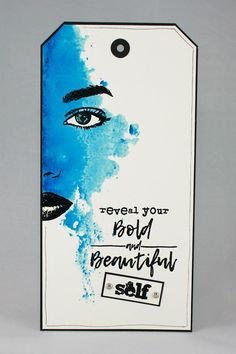Reveal Yourself | Visible Image - created by Veerle Moreels - face stamps