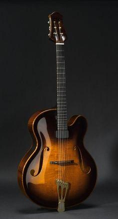 #Guitar #archtop Scharpach Vienna Golden Shade archtop guitar