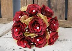 red wedding bouquets - Google Search