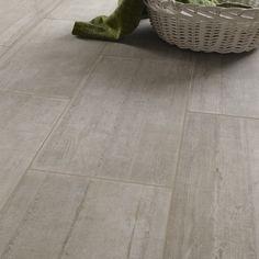 Carrelage sol et mur beige sablé effet béton Industry l.30 x L.60 cm