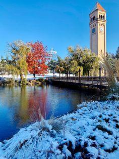 Spokane Washington, Garden Park, Private Garden, Adventure, Things To Sell, City, Building, Nature, Explore Travel