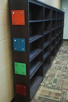 Glass dry erase boards on lockers! Perfect for keeping organized!    Studio L Glassworks