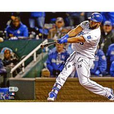 "Kendrys Morales Kansas City Royals Fanatics Authentic 2015 MLB World Series Champions Autographed 8"" x 10"" World Series Photograph - $71.99"