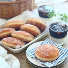 写真 Sweets Recipes, Hamburger, Hawaii, Food And Drink, Yummy Food, Bread, Cakes, Baking, Delicious Food