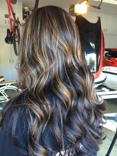 Partial highlights by nicole socialbeautytogo social beauty partial low highlighted weave on top of head and darker brown everywhere else hair is pmusecretfo Image collections